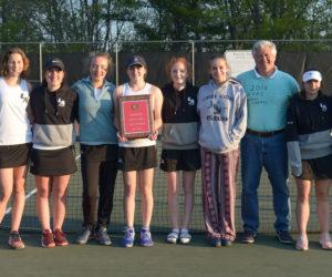 Lady Eagles Tennis Team Wins KVAC Crown