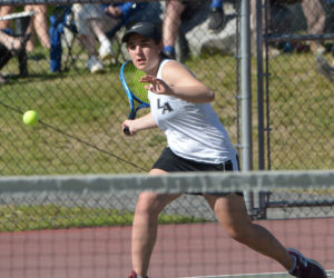 "<span class=""entry-title-primary"">Lady Eagles clip Spruce Mountain</span> <span class=""entry-subtitle"">headed to tennis semi-finals</span>"
