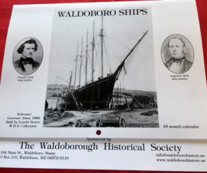 Historical Society's New Calendar Features Numerous Ships