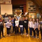 Red E. Fox Visits Wiscasset
