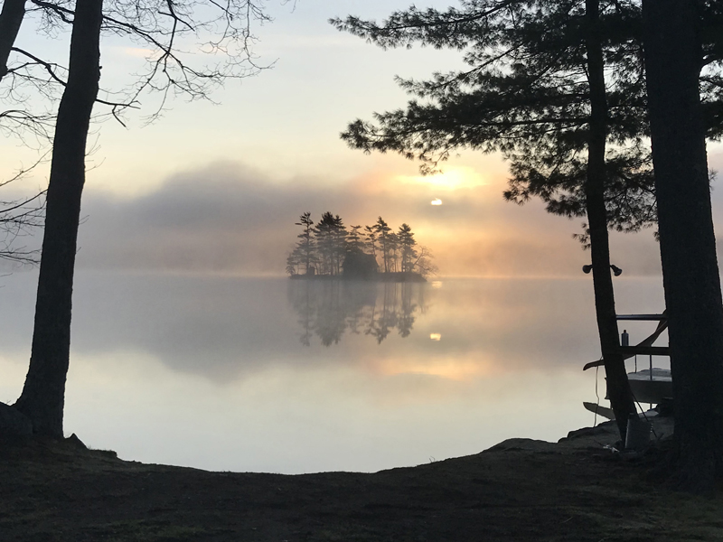 Maria Genthner, of Damariscotta, won the May #LCNme365 photo contest with her picture of Honeymoon Island on Pemaquid Pond at sunrise. Genthner will receive a $50 gift certificate to Metcalf's Submarine Sandwiches, of Damariscotta, the sponsor of the May contest.