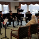 LA String Orchestra Entertains at Lincoln Home
