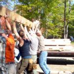 Timber Frame Course at Hidden Valley Nature Center