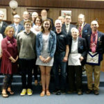 Masonic Lodge Recognizes Local Youth Volunteers