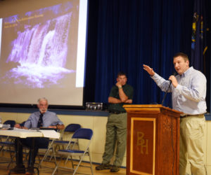 Crowd at Hearing Shows Support for Bristol Mills Dam