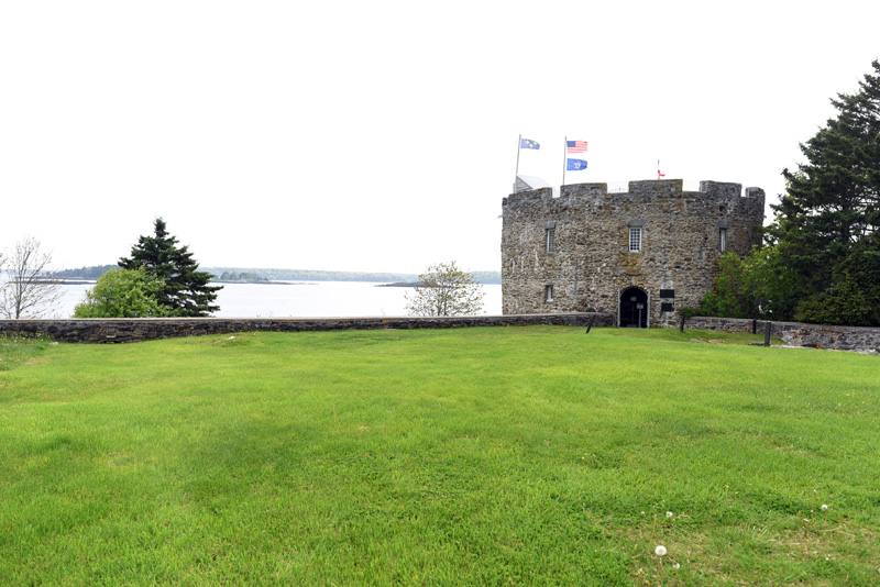 Fort William Henry, at the Colonial Pemaquid State Historic Site in Bristol, Friday, May 25. (Jessica Picard photo)