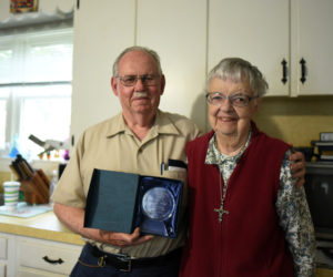 Damariscotta Recognizes Calvin and Marjorie Dodge