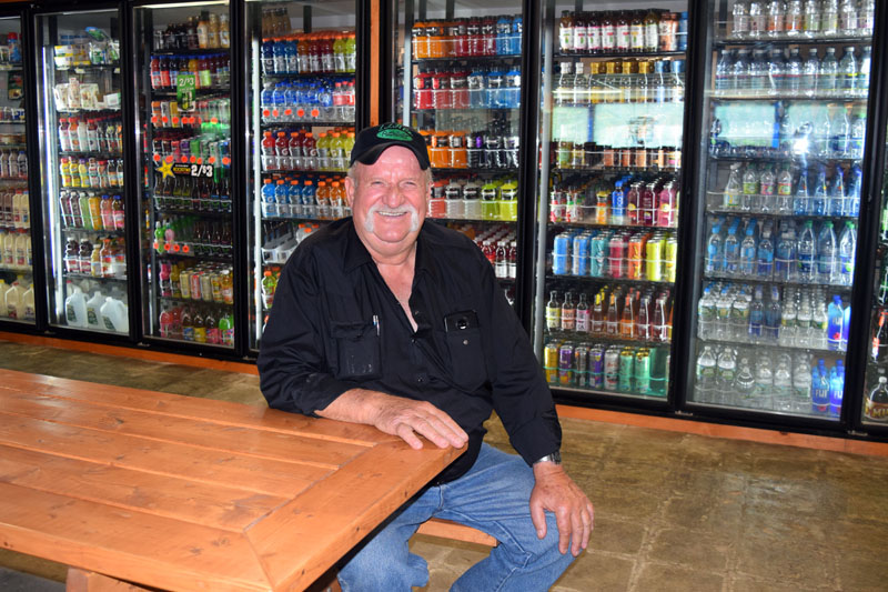 Peaslee's Quick Stop owner Forest E. Peaslee is preparing for his store's 25th anniversary celebration. (Jessica Clifford photo)
