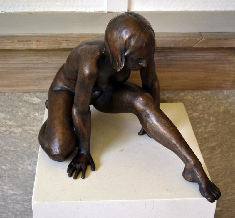 A sculpture by Daphne Pulsifer. (Christine LaPado-Breglia photo)
