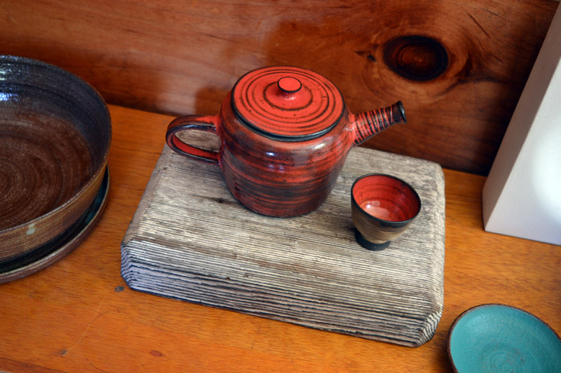 Ceramic pieces by Kila Bates. (Christine LaPado-Breglia photo)