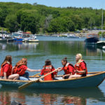 South Bristol School Eighth-Graders Launch Their Boats