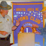 Bristol Area Lions Meeting Dedicated to AI Rottner