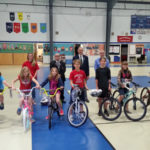 Bikes for Books Presentation in South Bristol