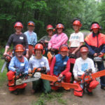 Women's Chainsaw Safety Class