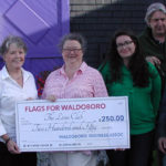 Business Association Supports Flags for Waldoboro