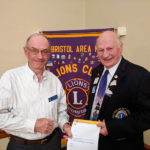 Hope Gets 35-Year Lions Service Award