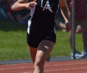 """<span class=""""entry-title-primary"""">Tahlia Mullen wins third straight State 400 title</span> <span class=""""entry-subtitle"""">State Class B</span>"""