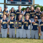Medomak 8th softball wins Busline League crown
