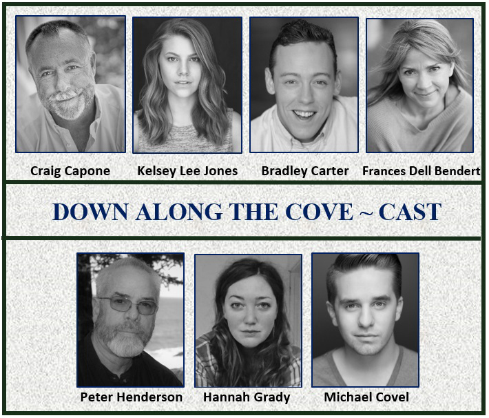 """Down Along the Cove"" cast members."