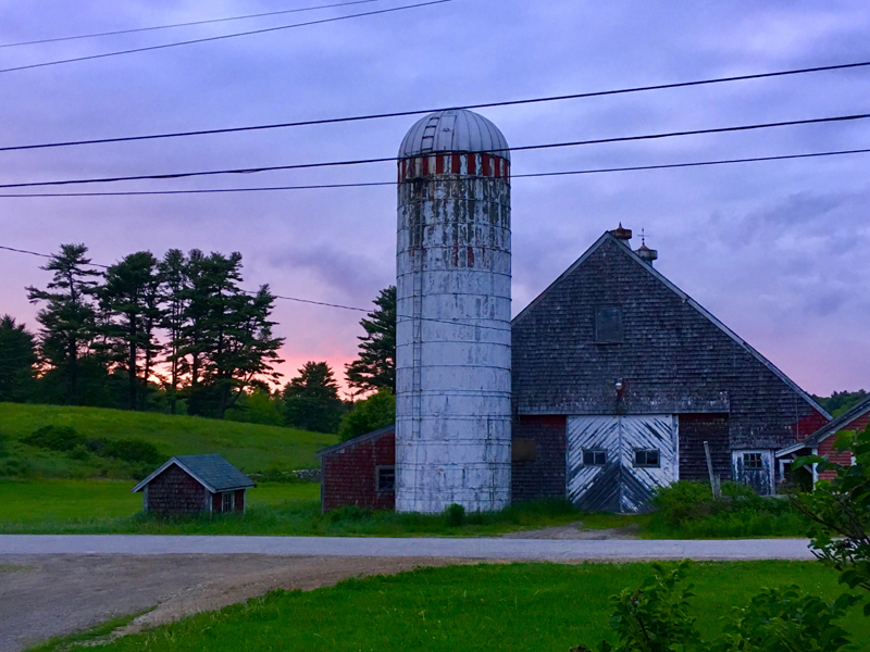 Krista Hilton Hatch, of Newcastle, won the June #LCNme365 photo contest with her picture of a barn on West Hamlet Road in Newcastle at sunset. Hatch will receive a $50 gift certificate to Wicked Scoops, of Damariscotta, the sponsor of the June contest.