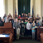 Students Tour Maine State House
