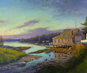 Thomas C. Adkins Open Studio in Round Pond