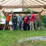 Timber Frame Workshop at Nature Center