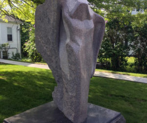 """To the Water,"" by Andreas Van Huene, at The Congregational Church of Boothbay Harbor. (Photo courtesy Patricia Royall)"