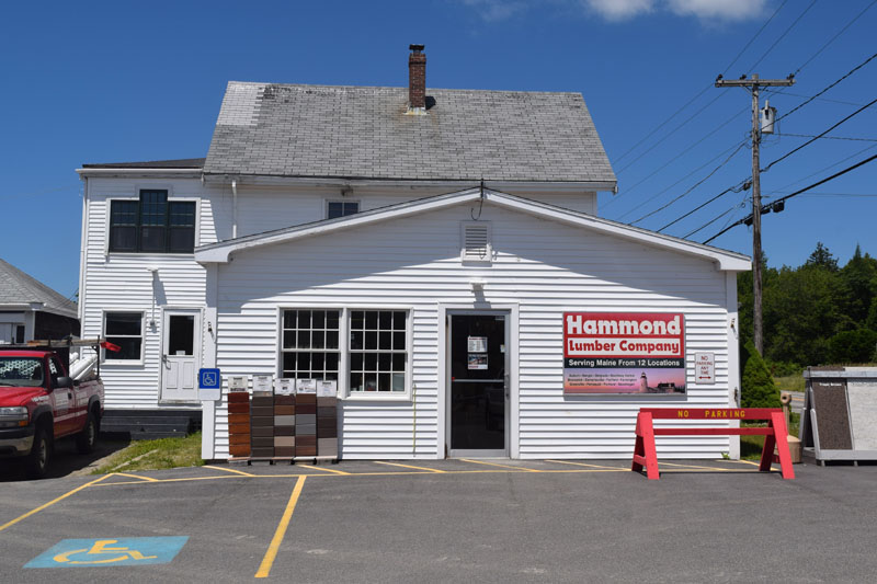 The Hammond Lumber Co. store at 2089 Bristol Road. The store will soon close and the three employees will go to work at the company's Damariscotta location, according to a company official. (Jessica Clifford photo)