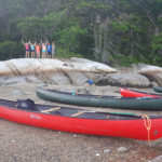 DRA Campers Explore Damariscotta River Watershed by Canoe