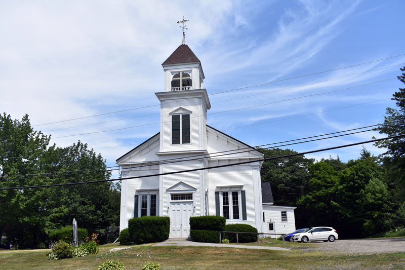 The First Baptist Church of Nobleboro will celebrate its 225th anniversary with a special service Sunday, July 21. (Alexander Violo photo)