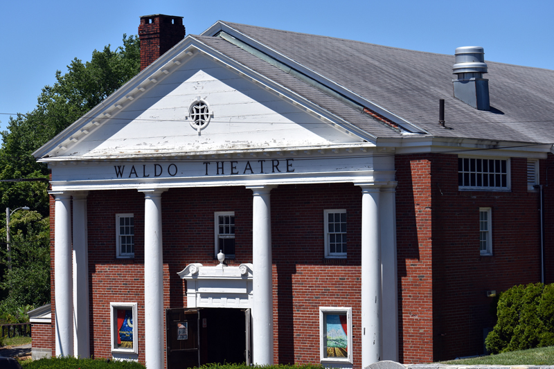 The Waldo Theatre in downtown Waldoboro. (Alexander Violo photo)