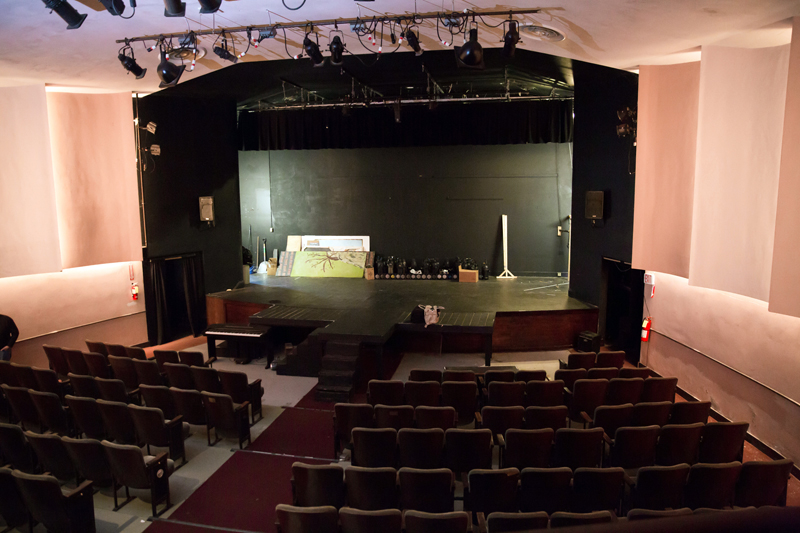 The stage of the Waldo Theatre. (Photo courtesy Liz Hayford, Windy Hill Photography)