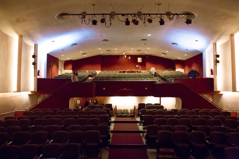 Inside the Waldo Theatre. (Photo courtesy Liz Hayford, Windy Hill Photography)
