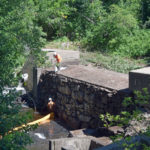 Demolition of Coopers Mills Dam Begins