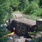 Demolition of Coopers Mills Dam Begins