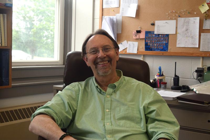 Whitefield Elementary School Principal Mark Deblois. (Jessica Clifford photo)