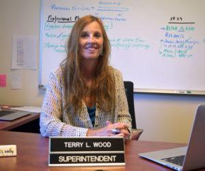 Wiscasset School Department Superintendent Terry Wood started work July 1.
