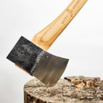 Axe-making Demonstration at Boothbay Railway Village