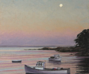 Coastal Landscapes by Walker, Kefauver at Pemaquid Art Gallery