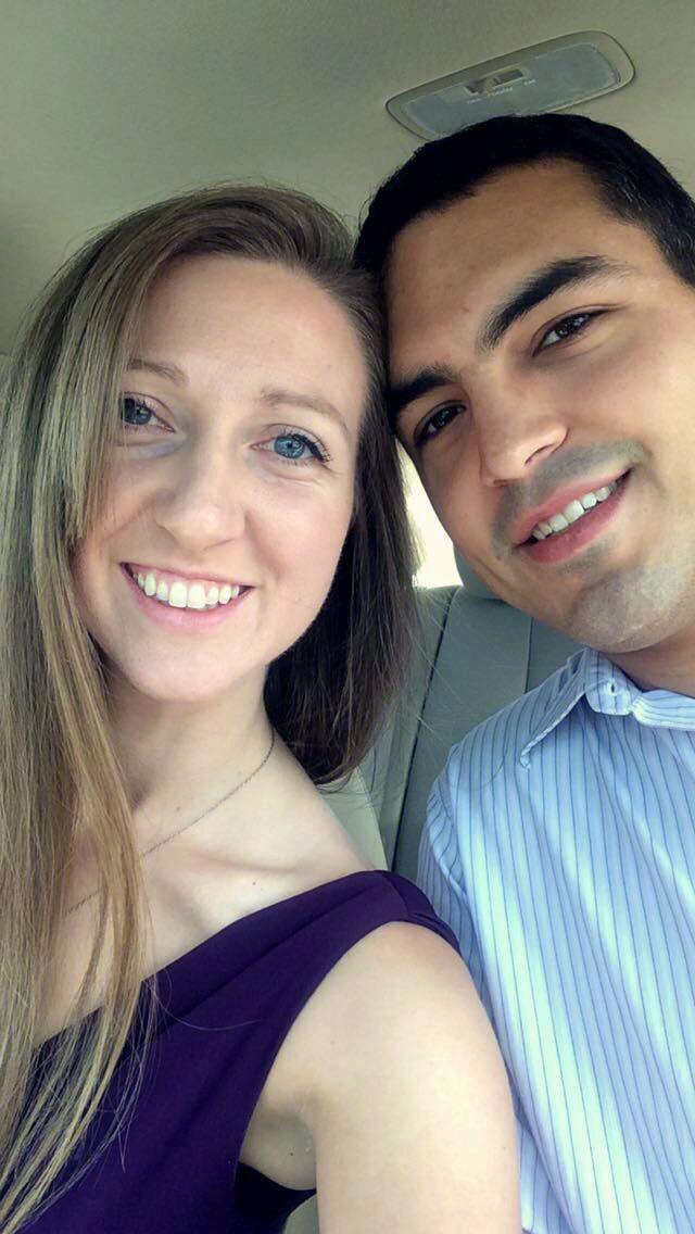 Sarah Jane Hunter and Shane Michael Johnson