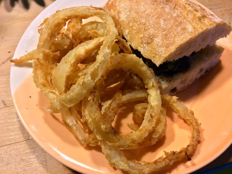Make some o-rings and a great burger for dinner - tonight! (Suzi Thayer photo)