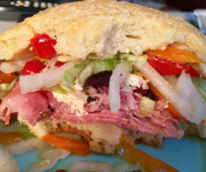 """<span class=""""entry-title-primary"""">Food, Life, and Manhattans</span> <span class=""""entry-subtitle"""">A sandwich can be totally awesome</span>"""
