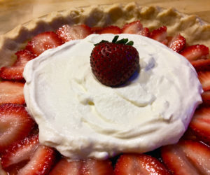 """<span class=""""entry-title-primary"""">Food, Life, and Manhattans</span> <span class=""""entry-subtitle"""">Strawberry pie for the Fourth of July … and lobsters, and wine, and Orange Crush</span>"""