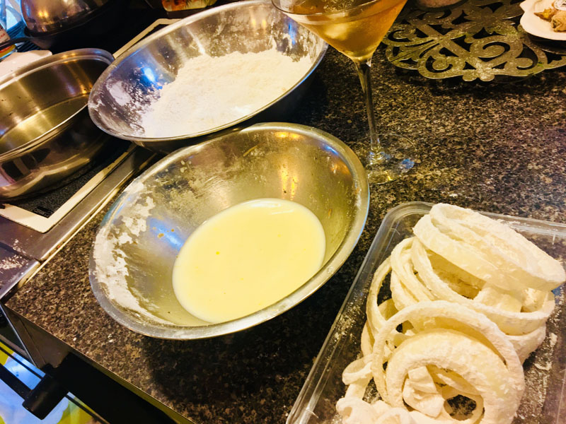 Mise en place for the Best. O-rings. Ever. (Suzi Thayer photo)