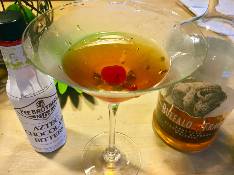 A Manhattan makes cooking, and everything else, more fun. (Suzi Thayer photo)