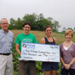 First National Bank Supports Twin Villages Foodbank Farm