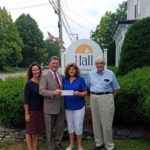 Hall Funeral Home Donates to 'Flags for Waldoboro'