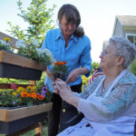 Therapeutic Gardening Helps St. Andrews Village, Cove's Edge Residents