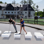 3-D Crosswalk to Add Dimension to LA Campus